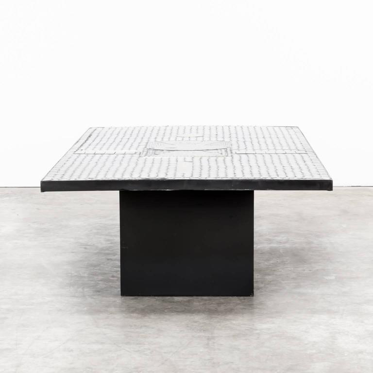 Raf Verjans Coffee Table with Agate Stone 4