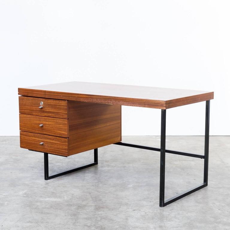 Mid-Century Modern 1960s Pierre Guariche Writing Desk for Meurop