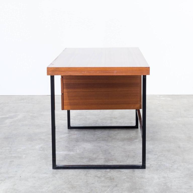 Belgian 1960s Pierre Guariche Writing Desk for Meurop