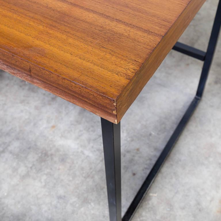 Steel 1960s Pierre Guariche Writing Desk for Meurop
