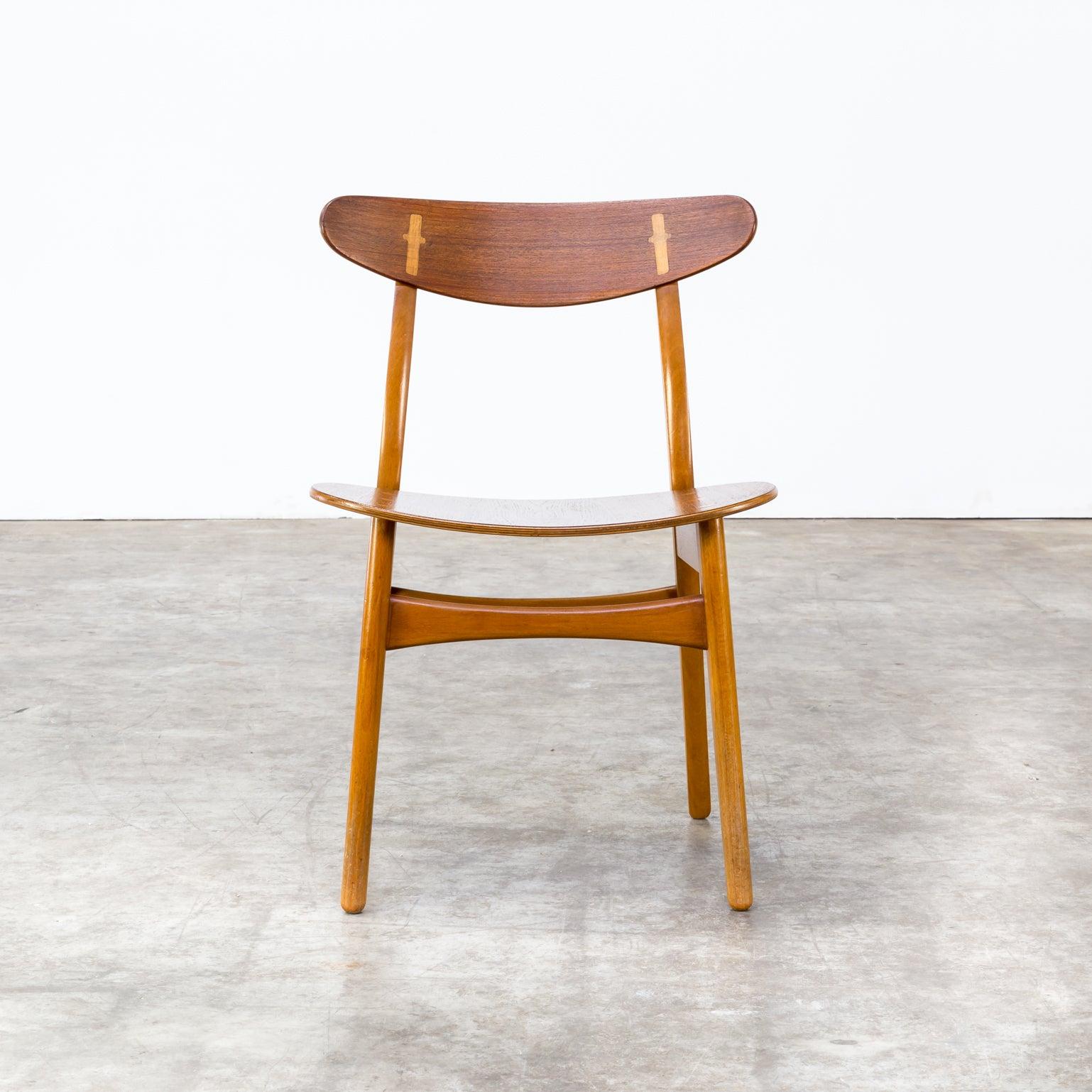 1950S Hans J Wegner Ch 30 Dining Chairs For Carl Hansen
