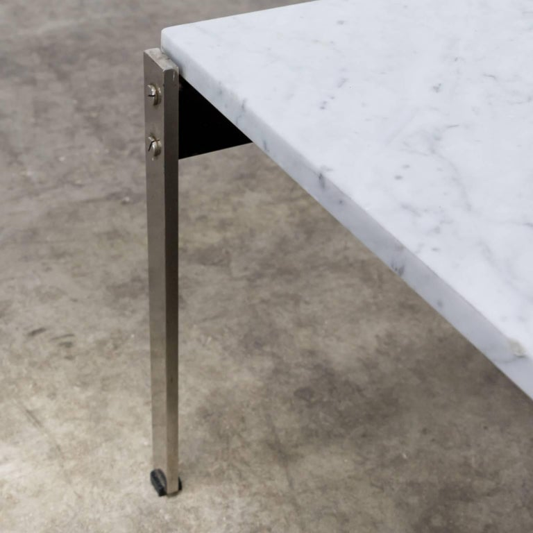 1950s Kho Liang Ie Coffee Table '020 series' Marble for Artifort For Sale 1