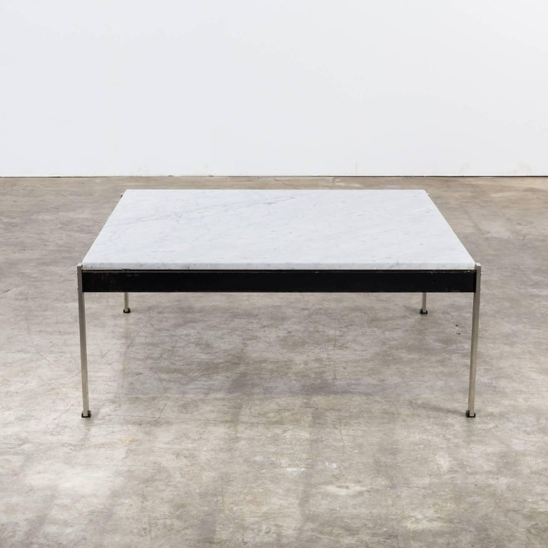 Dutch 1950s Kho Liang Ie Coffee Table '020 series' Marble for Artifort For Sale