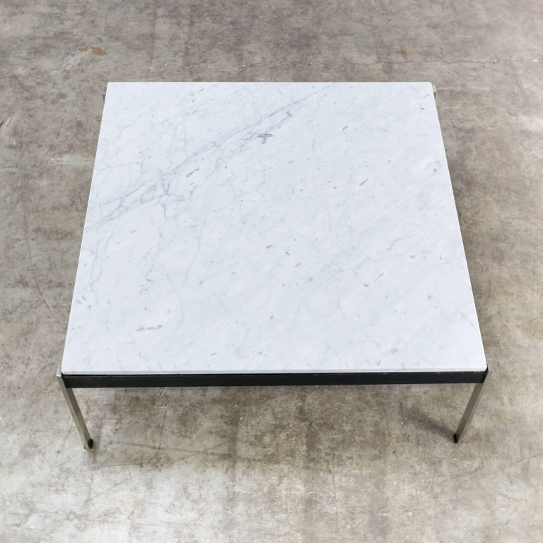 20th Century 1950s Kho Liang Ie Coffee Table '020 series' Marble for Artifort For Sale