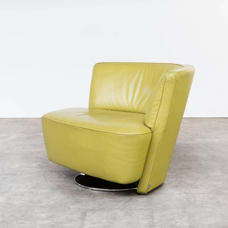1990s eoos drift swivel fauteuil for walter knoll for. Black Bedroom Furniture Sets. Home Design Ideas