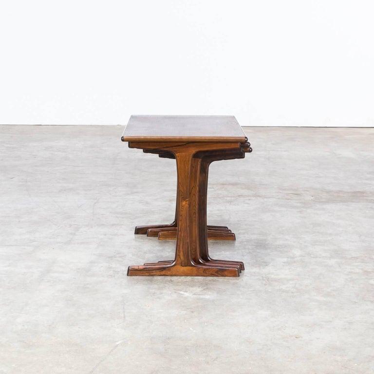 1960s Kai Kristiansen Nesting Tables for Vildbjerg Møbelfabrik