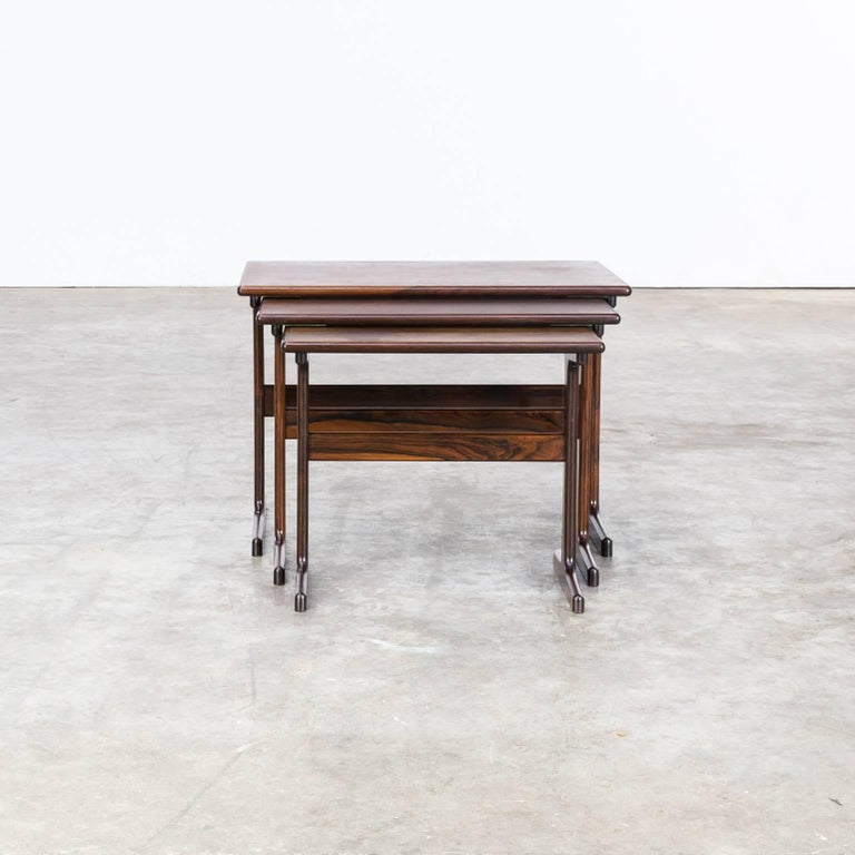 20th Century 1960s Kai Kristiansen Nesting Tables for Vildbjerg Møbelfabrik