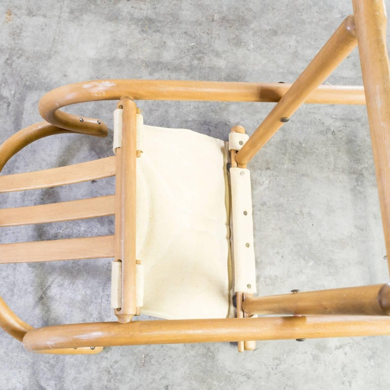 Thonet Bentwood Folding Chair Set or 2 For Sale 4
