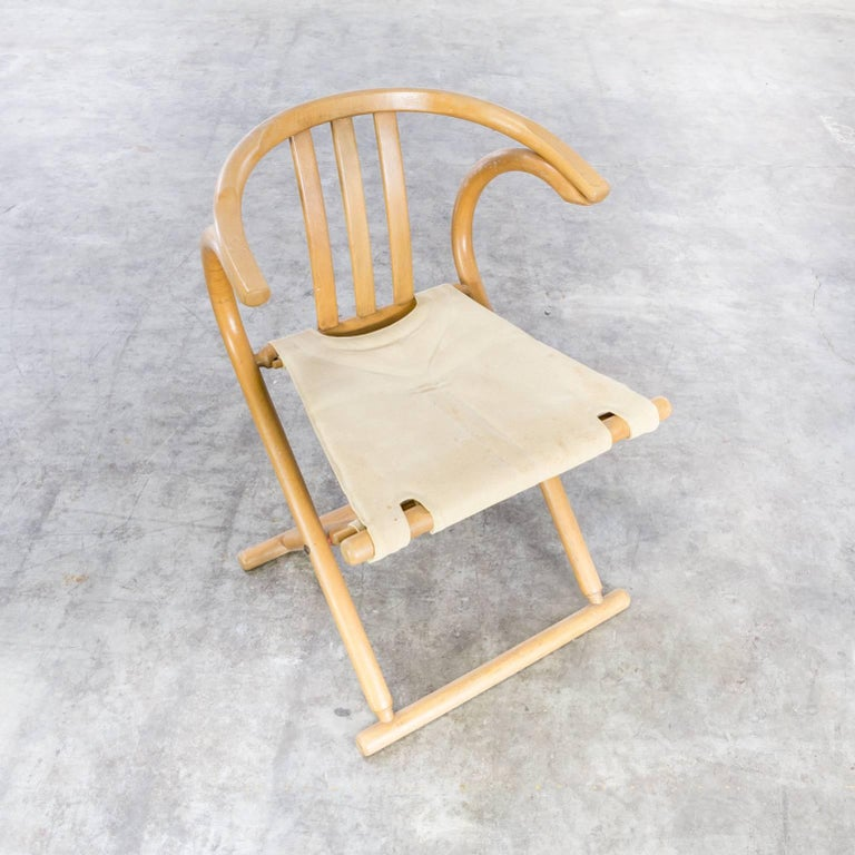 Thonet Bentwood Folding Chair Set or 2 For Sale 2