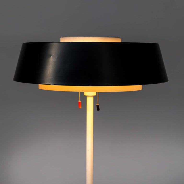 Dutch 1950s Niek Hiemstra 'ST 7128' Floor Lamp for Hiemstra Evolux For Sale
