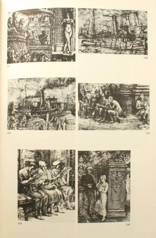 American Reginald Marsh, Etchings, Engravings, Lithographs, First Edition For Sale