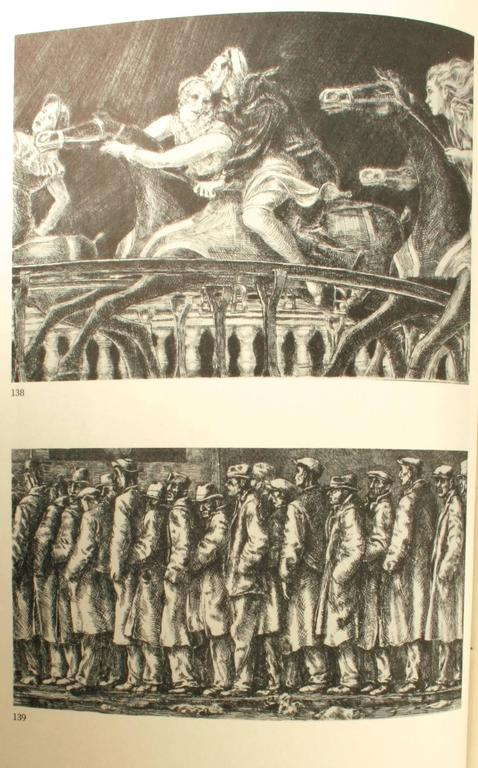 Reginald Marsh, Etchings, Engravings, Lithographs, First Edition In Excellent Condition For Sale In Kinderhook, NY