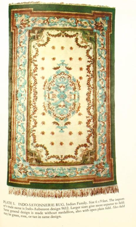American Oriental Rugs, a Complete Guide by Charles W. Jacobsen, Signed First Edition For Sale