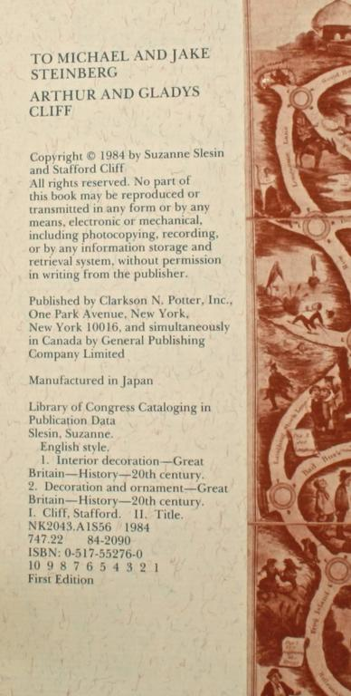 English Style, First Edition For Sale 4