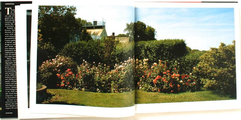 Nantucket Gardens And Houses, First Edition For Sale 3