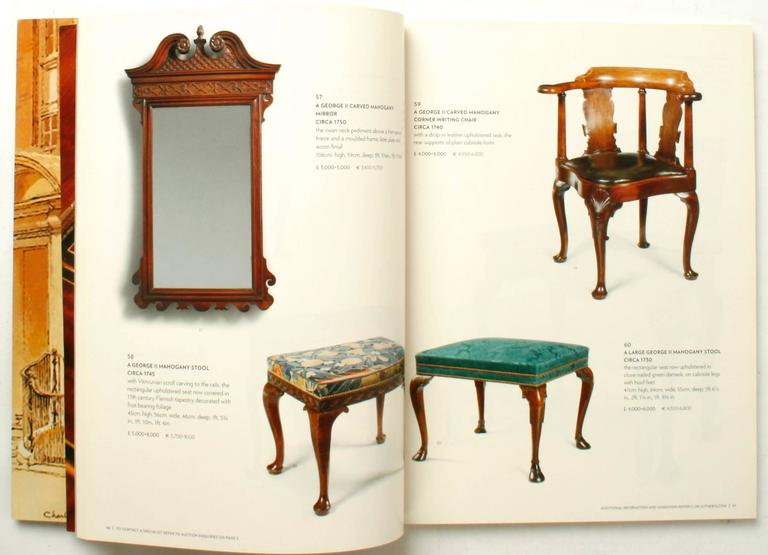 Norman adams auction catalogue from sothey 39 s london for for Furniture auctions london