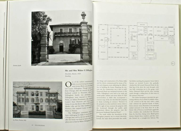 The Country Houses of David Adler by Stephen M. Salny, Signed First Edition In Excellent Condition For Sale In valatie, NY