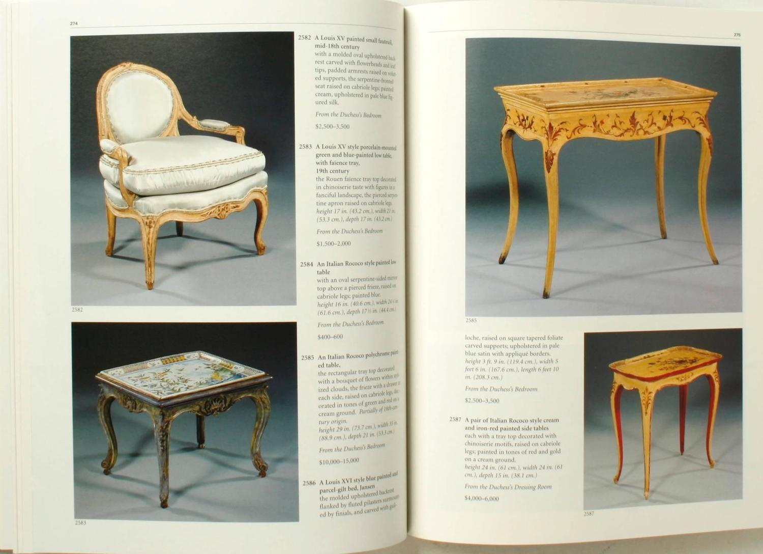 Sothebyu0027s Catalogues From The Duke And Duchess Of Windsor Auction At 1stdibs