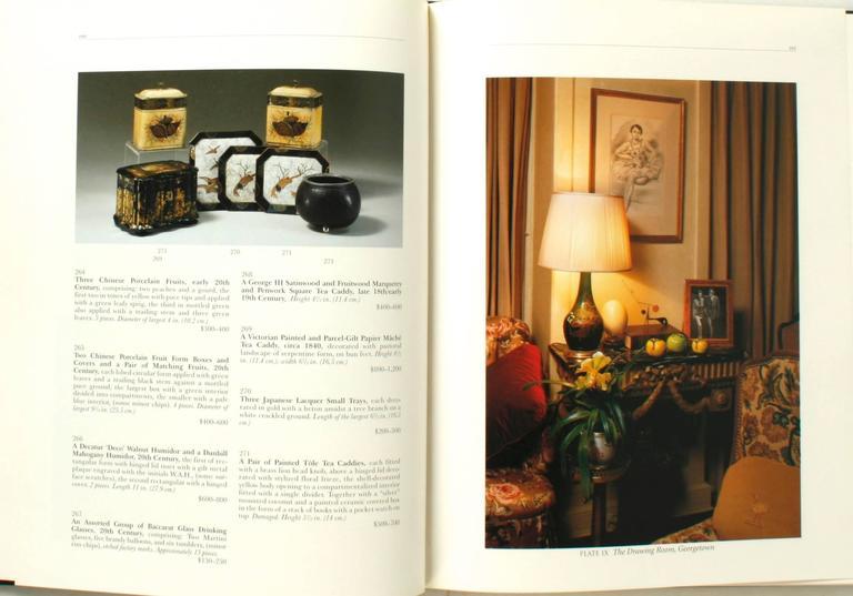 Auction Catalogue from The Estate of Ambassador Pamela Harriman For Sale 1