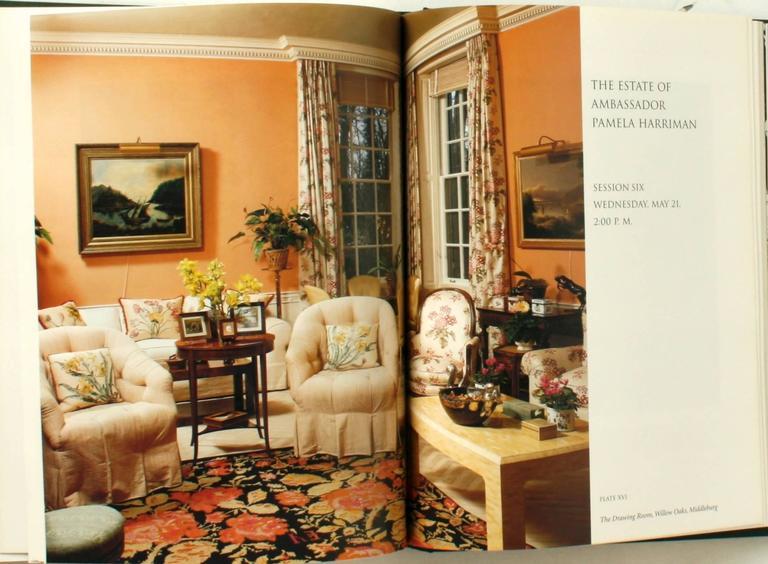 Auction Catalogue from The Estate of Ambassador Pamela Harriman For Sale 3