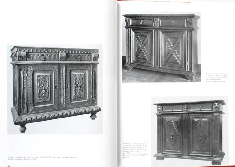 Italian Piedmontese Furniture, First Edition For Sale