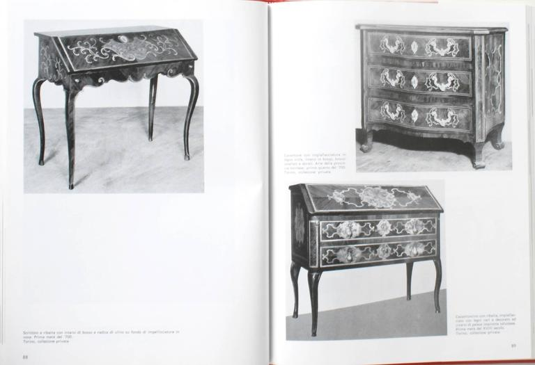 20th Century Piedmontese Furniture, First Edition For Sale