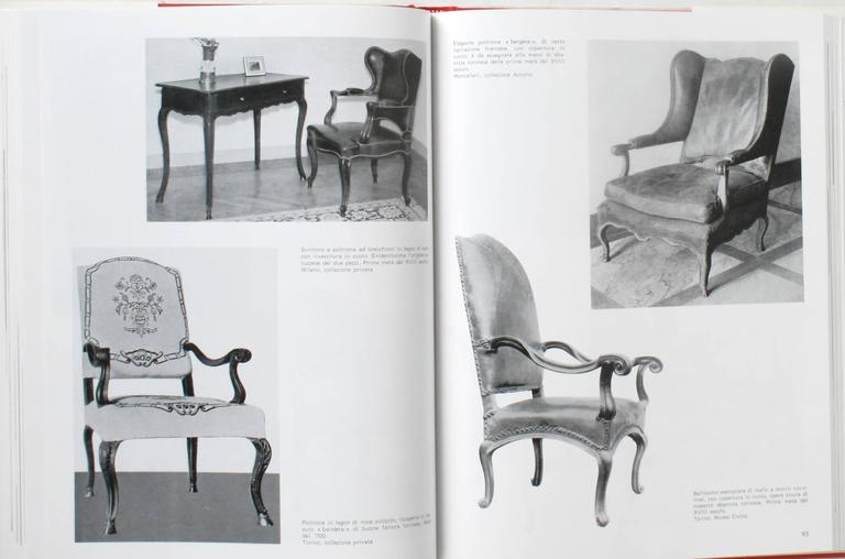 Paper Piedmontese Furniture, First Edition For Sale