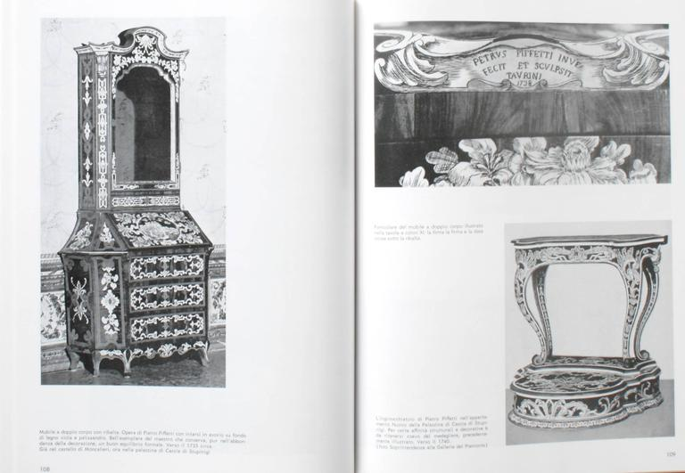 Piedmontese Furniture, First Edition For Sale 1