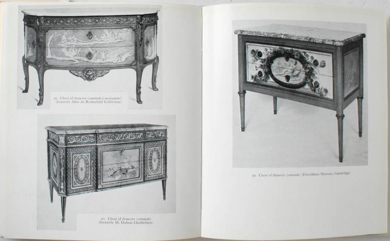 Louis XVI Furniture by F.J.B.Watson. London: Alec Tiraniti, 1960. First edition hardcover with dust jacket. 404 pp. An invaluable resource book on Louis XVI furniture with 242 black and white plates. In the 18th c the development of the luxury arts