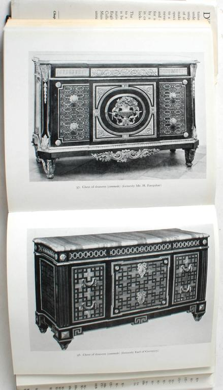 20th Century Louis XVI Furniture by F.J.B.Watson, First Edition For Sale