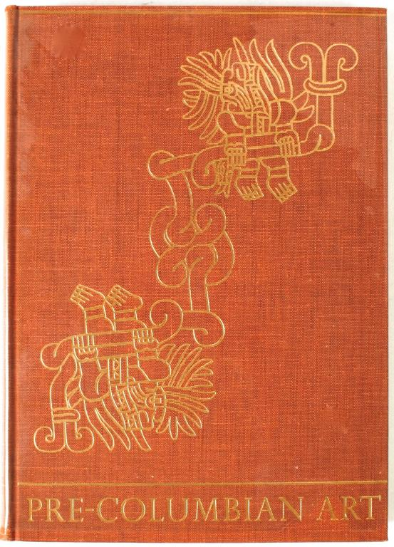 """Pre-Columbian Art"" book, New York: Phaidon Publishers, Inc., 1957. First edition hardcover with skip case. 285 pp. A beautiful vintage coffee table book cataloguing Robert Woods Bliss' collection of Pre-Columbian art. Bliss fell in love with the"