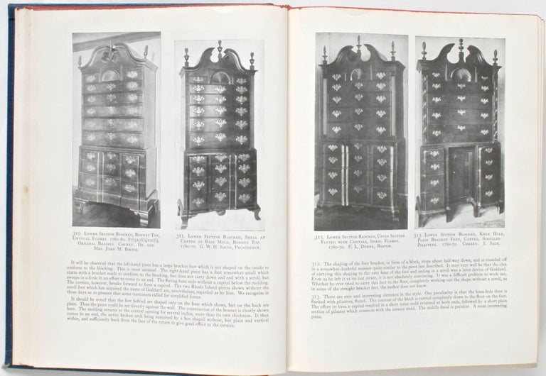 American Furniture Treasury by Wallace Nutting 2 Volume Set For Sale