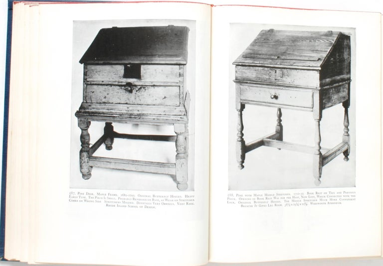 Furniture Treasury by Wallace Nutting 2 Volume Set In Good Condition For Sale In valatie, NY