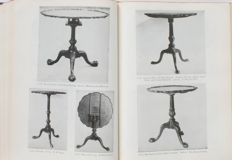 20th Century Furniture Treasury by Wallace Nutting 2 Volume Set For Sale