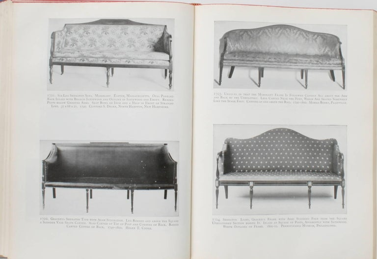 Furniture Treasury by Wallace Nutting 2 Volume Set For Sale 1