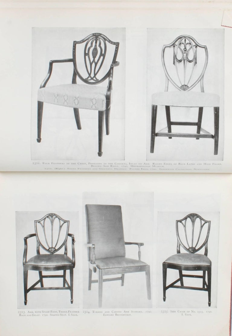 Furniture Treasury by Wallace Nutting 2 Volume Set For Sale 2