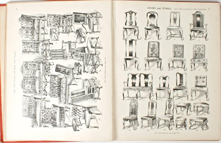English Furniture, Woodwork, Decoration, During the 18th c, 1st Ed In Fair Condition For Sale In valatie, NY