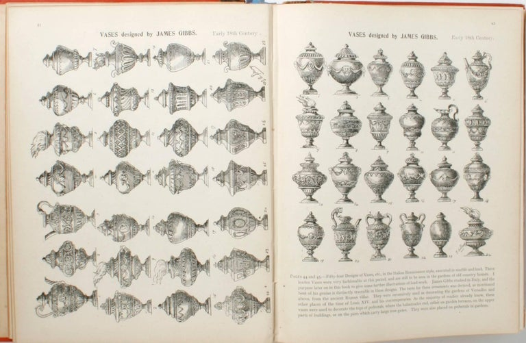 19th Century English Furniture, Woodwork, Decoration, During the 18th c, 1st Ed For Sale