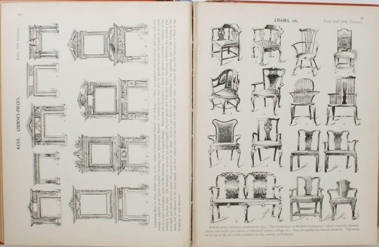 Paper English Furniture, Woodwork, Decoration, During the 18th c, 1st Ed For Sale