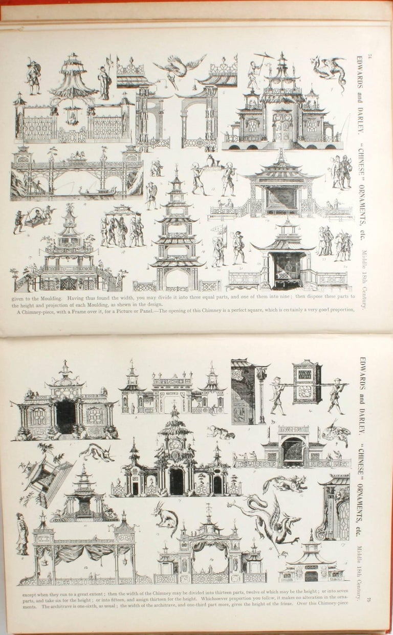 English Furniture, Woodwork, Decoration, During the 18th c, 1st Ed For Sale 1