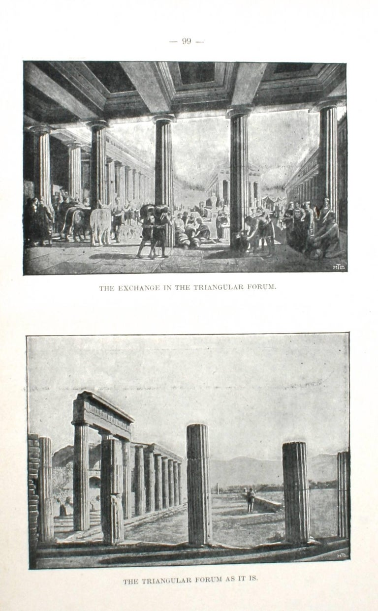 Pompei Past And Present By P Beccarini First Edition For Sale At 1stdibs