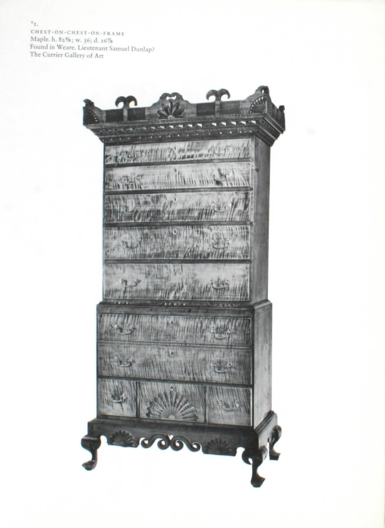Dunlaps And Their Furniture, First Edition For Sale At 1stdibs