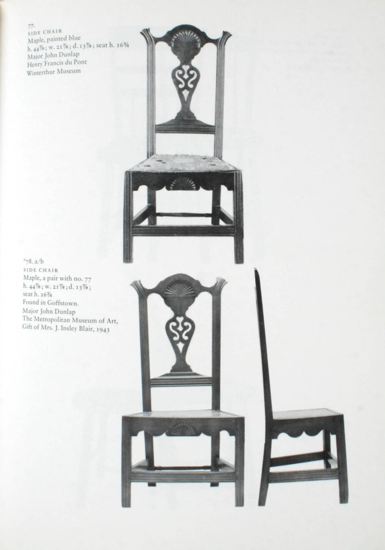 20th Century Dunlaps & Their Furniture, First Edition For Sale