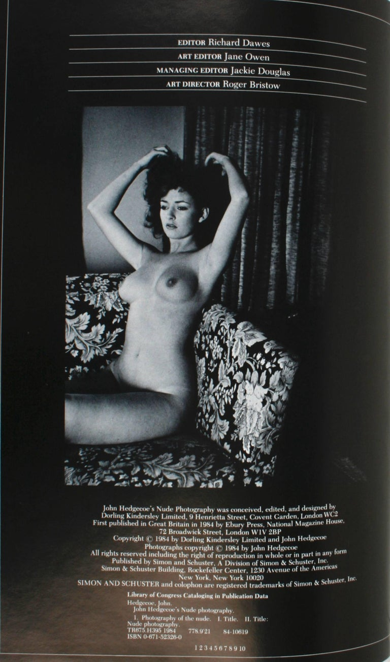 John Hedgecoe's Nude Photography, First Edition For Sale 4