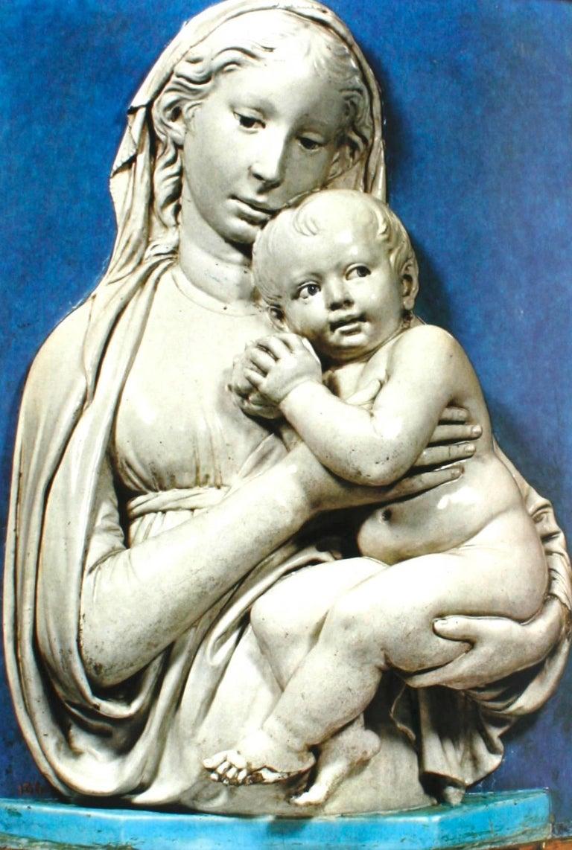 Italian Luca, Andrea, Giovanni Della Robbia, An Art Guide by F. Gaeta Bertela For Sale