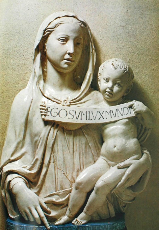 Luca, Andrea, Giovanni Della Robbia, An Art Guide by F. Gaeta Bertela For Sale 2