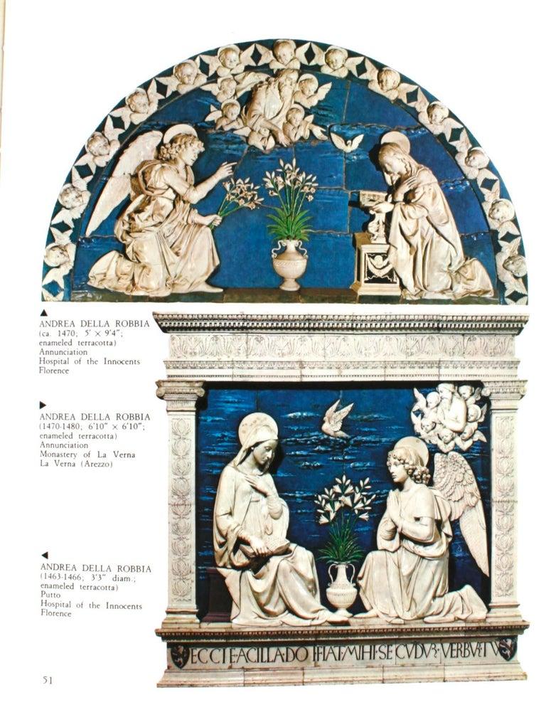 Luca, Andrea, Giovanni Della Robbia, An Art Guide by F. Gaeta Bertela For Sale 3