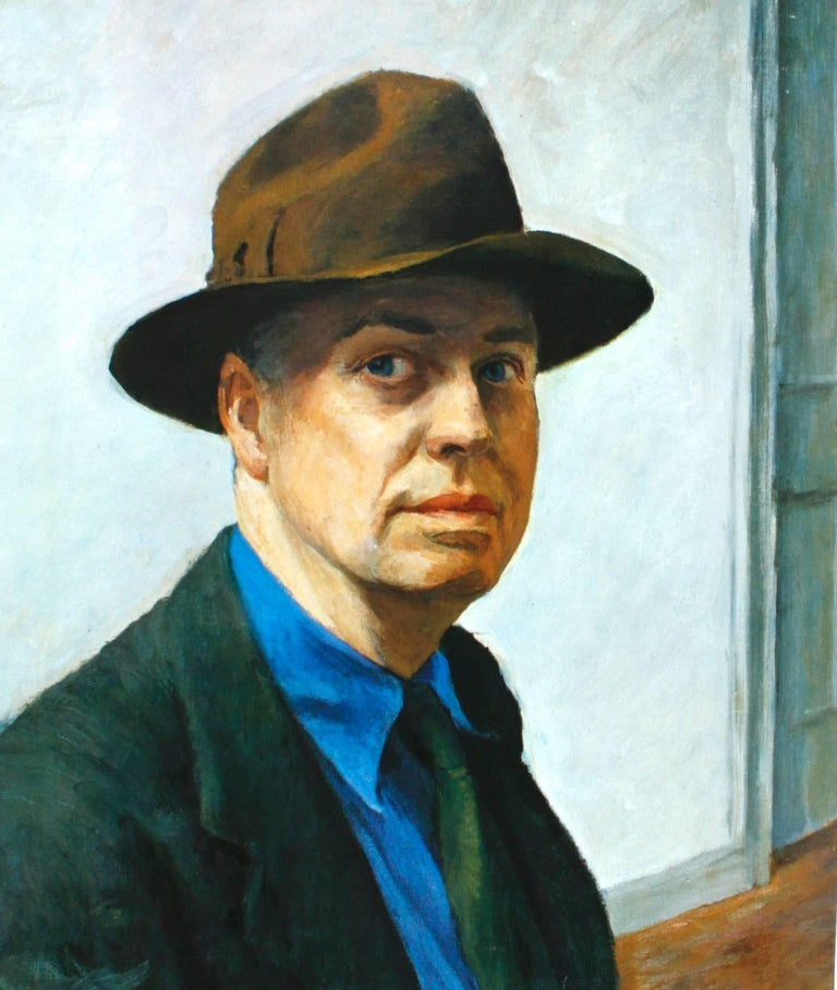 Edward Hopper by Lloyd Goodrich. New York: Harry N. Abrams, Inc. First edition hardcover with no dust jacket, 1971. An oversized art book on the life and work of Edward Hopper. Hopper (1882-1967) was a prominent American artist who painted in his