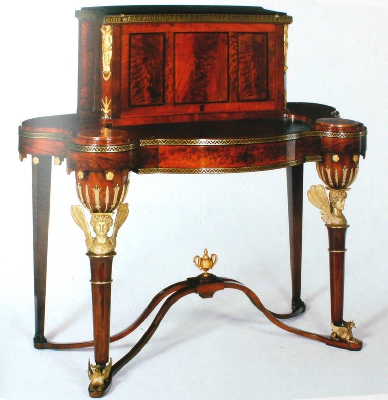 Russian Furniture, the Golden Age 1780-1840 1st Ed by Antoine Chenevière In Good Condition For Sale In Kinderhook, NY