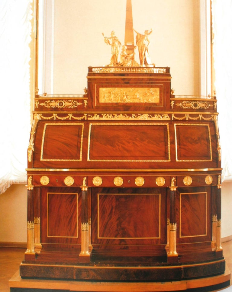 Paper Russian Furniture, the Golden Age 1780-1840 1st Ed by Antoine Chenevière For Sale